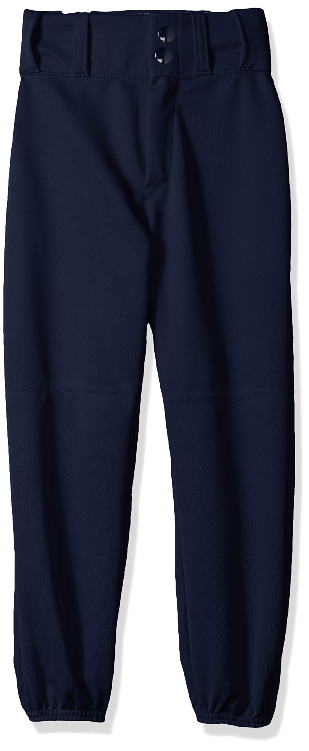 Alleson Ahtletic Boys Youth Elastic Bottom Baseball Pants, Navy, X-Large by Alleson Ahtletic