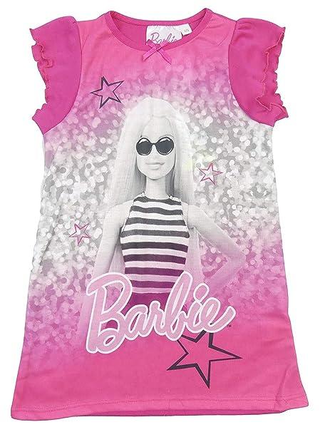 a8299abd16 TDP - Camisón - para niña Rosa Barbie 7-8 Años  Amazon.es  Ropa y accesorios