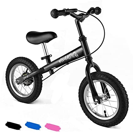 3555f6018cd Rapesee New Kid's Balance Bikes 12-inch wheels Bicycle Children Walker No  Foot Pedal Toddler