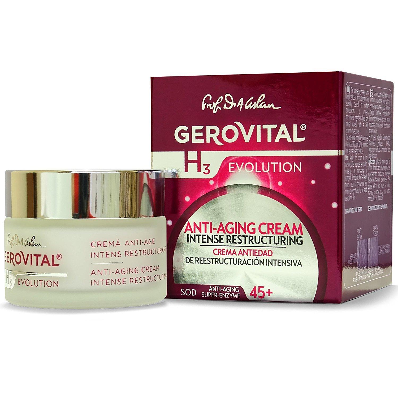 GEROVITAL H3 EVOLUTION Anti-aging Cream 50 ml / 1.69 fl oz FARMEC SA 224