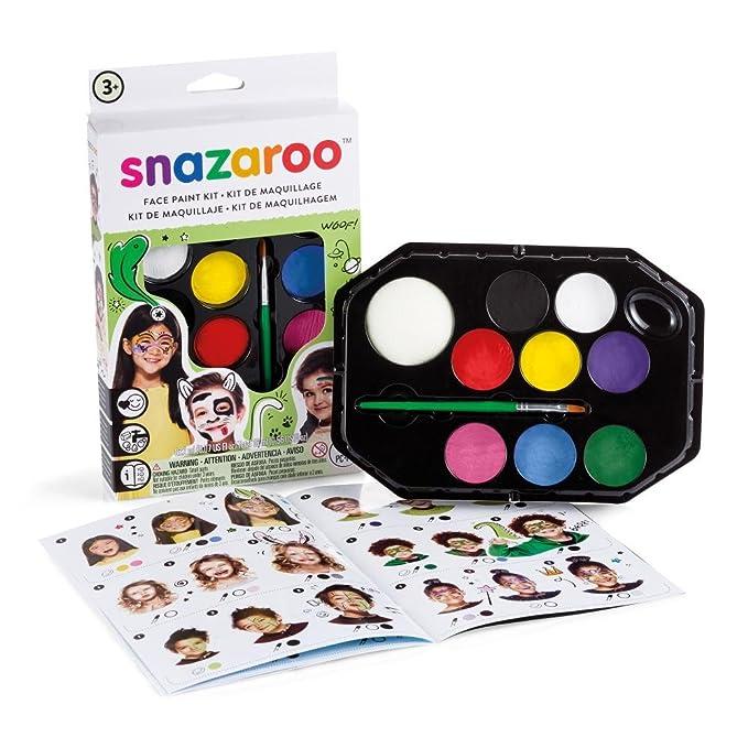 Snazaroo - Paleta de pintura facial unisex