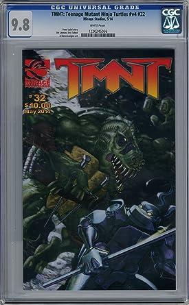 Amazon.com: TMNT: Teenage Mutant Ninja Turtles V4#32 CGC 9.8 ...