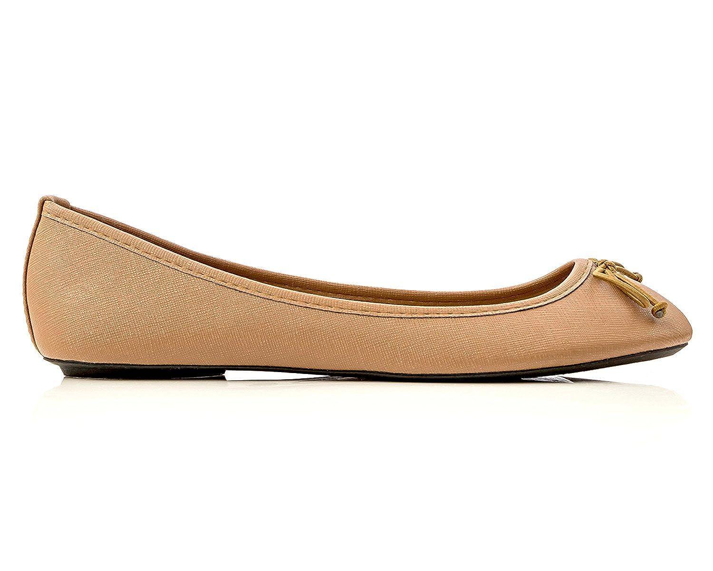 Charles Albert Women's Shoe Ballet Basic Light Comfort Low Heel Flat