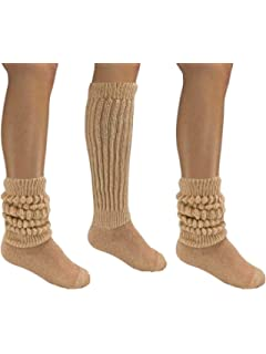 f0ed37026b0 Amazon.com  MDR Women s Extra Long Heavy Slouch Cotton Socks Made in ...