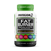 INVIGOR8 Fat Burner. Healthy Garcinia Weight Loss Supplement & Appetite Suppressant...