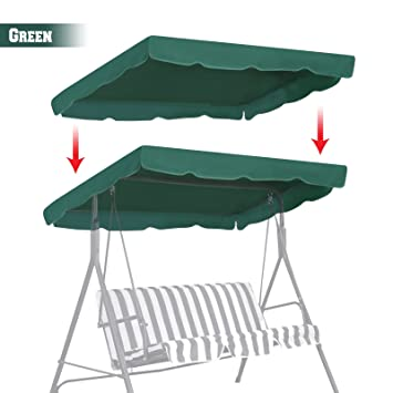Amazon Com Benefitusa Patio Outdoor 77 X43 Swing Canopy