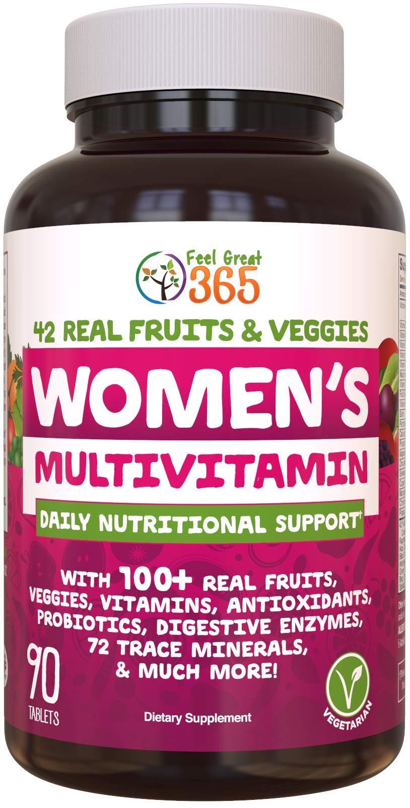 Women's Vegetarian Multivitamin by Feel Great 365