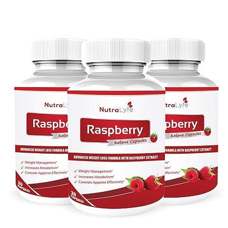 Nutralyfe Raspberry Ketone Extract 800 Mg Capsules 30 Capsules