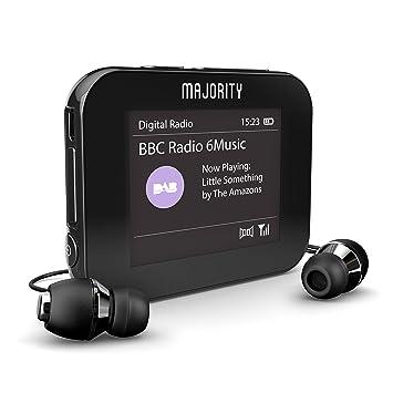 Majority Parkside Colour - Personal Digital Dab/Dab+ /Radio ...