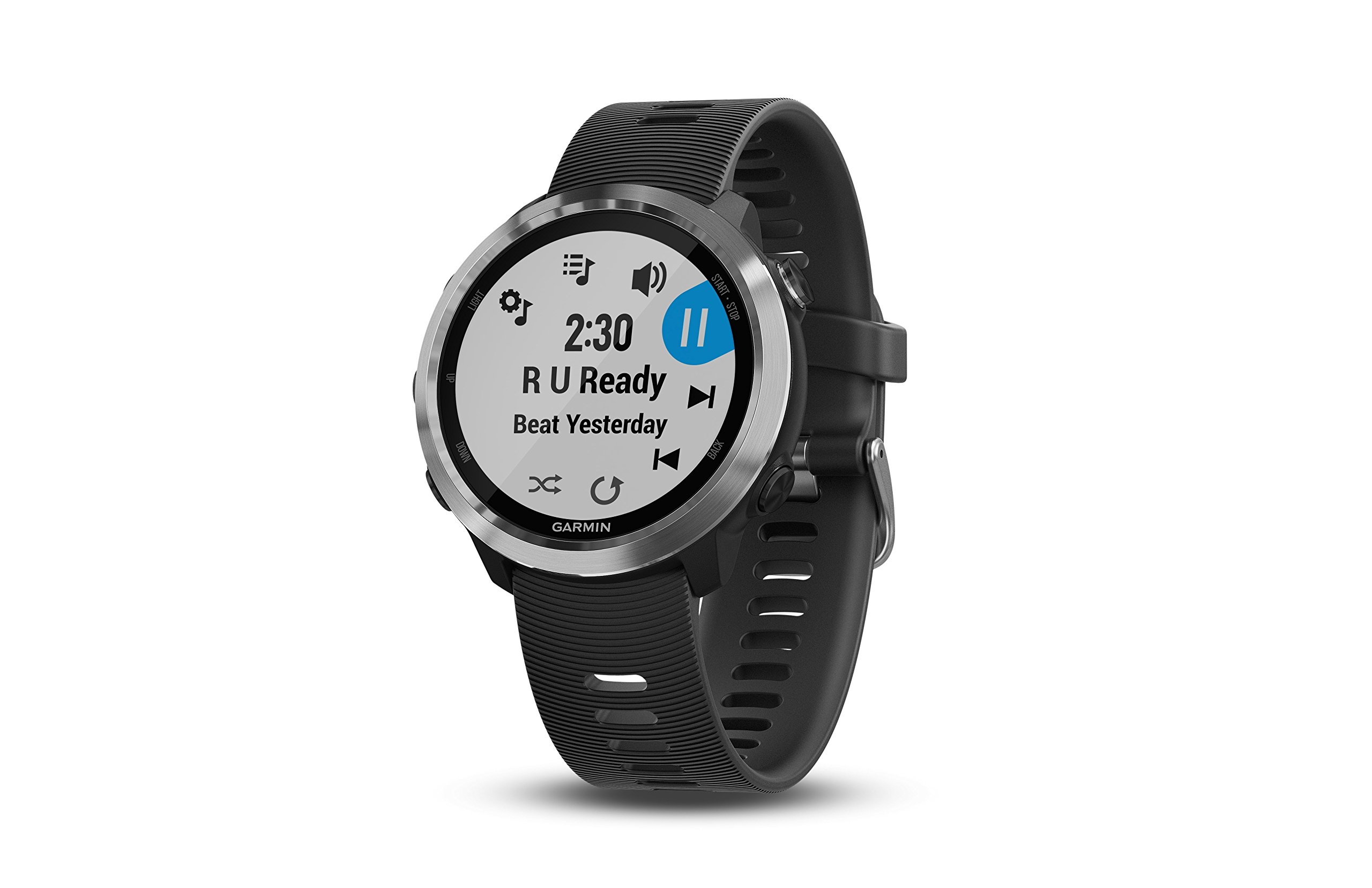 Garmin Forerunner 645 Music, GPS Running Watch with Pay Contactless Payments, Wrist-Based Heart Rate and Music, Black by Garmin