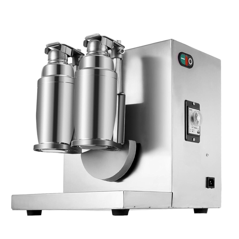Milk Tea Shaker Chaneau Milk Tea Shaker Double-Frame Th/é Lait Shaker Milk Tea Shaking Machine 220v 400r//min Boba Shaker
