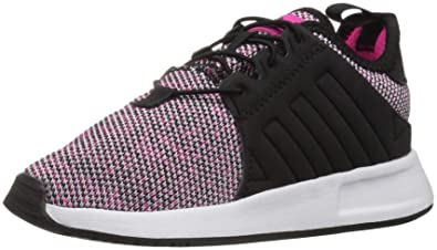 190c89e6 adidas Originals Baby X_PLR EL Running Shoe, Shock Pink/Black/White, 4K