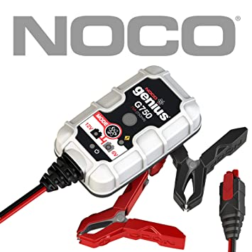 NOCO Genius G750UK 6V/12V ,75A UltraSafe Smart Battery Charger for Cars,  Motorcycles and More