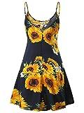 MSBASIC Floral Skater Dress, Floral Dresses for