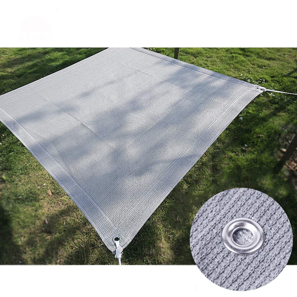 Shade Netting Shade Cloth 90/% Sunblock Shade Cloth Net Gray Bulk UV Resistant Fabric Mesh Tarp for Greenhouse Shade Cloth Taped Edge Garden Flower Plant Greenhouse Barn or Kennel Car Roof Covers Car
