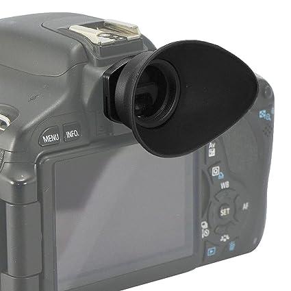 First2savvv DSLR Visor Ocular de goma ocular para Canon EOS 1300d ...