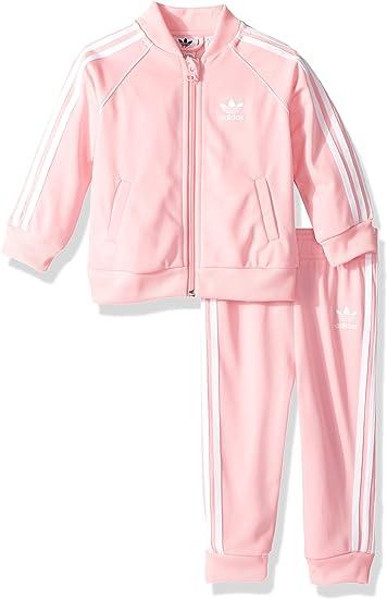 oración Presunción cumpleaños  adidas Originals Baby Infant Superstar Tracksuit, Light Pink/White, 9M:  Amazon.ca: Clothing & Accessories