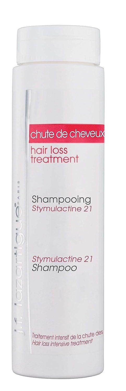 J.F. Lazartigue Hair Loss Treatment Duo Pack Stymulactine Intensive Scalp Revitalizer and Stymulactine 21 Shampoo