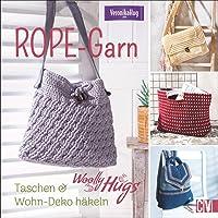 Woolly Hugs ROPE-Garn: Taschen & Wohn-Deko häkeln
