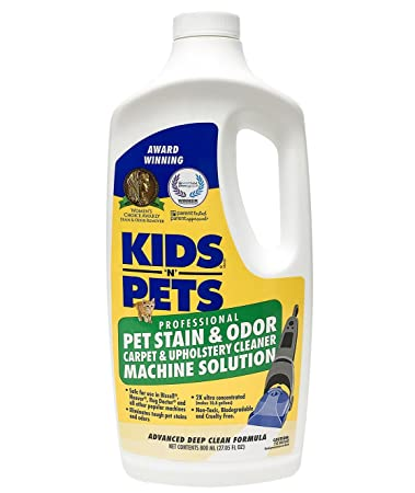 Amazon.com: KIDS 'N' PETS Pet Stain and Odor Carpet and Upholstery Cleaner Machine Solution (1): Pet Supplies