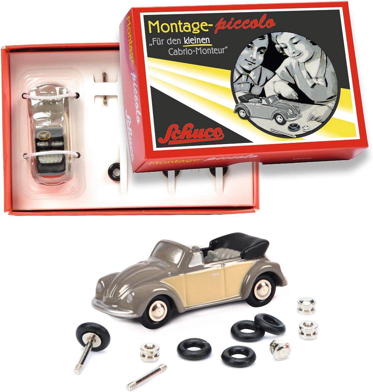 Schuco 05578 # VW Beetle Cabrio Montage Encadré pour le petit Cabriolet-monteur 1:90