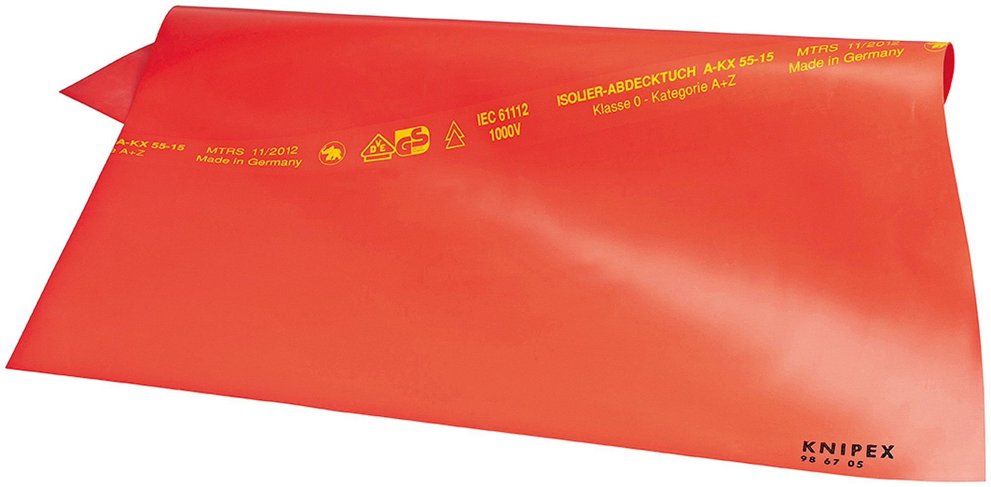 98 67 10 Insulating Mats of Rubber 39, 37''