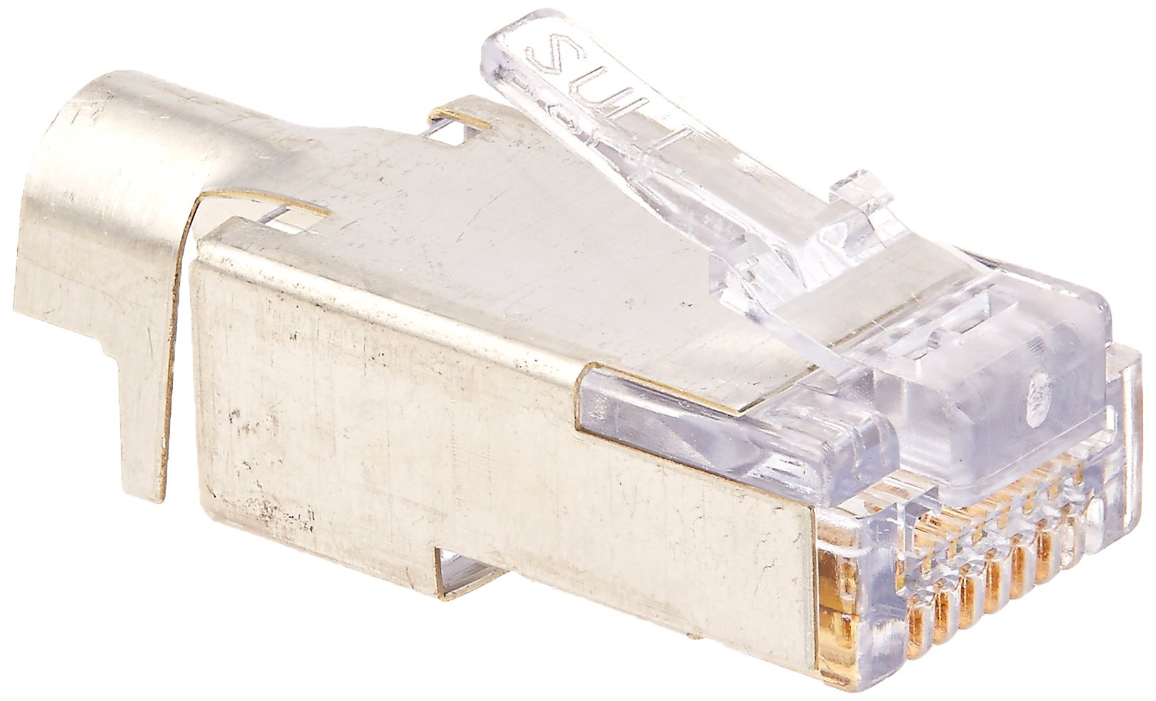 Platinum Tools 100022 EZ-RJ45 Shielded Cat5e/6 External Ground, 50-Pack by Platinum Tools