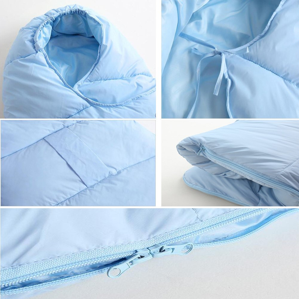 Meijunter Newborn Baby Wrap Down Sleeping Bag Toddler Sleep Wrapped 0-24 Month