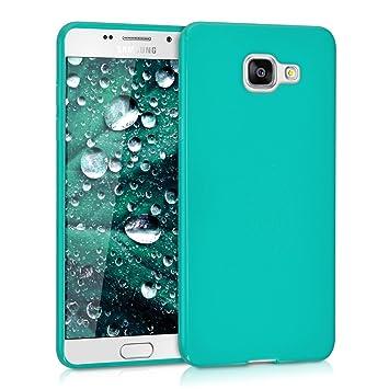 kwmobile Funda para Samsung Galaxy A5 (2016) - Carcasa para móvil en TPU Silicona - Protector Trasero en Turquesa Mate