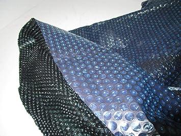solarnoppen Pantalla Azul/Negro Solar Lona Pool Protectora 305 cm