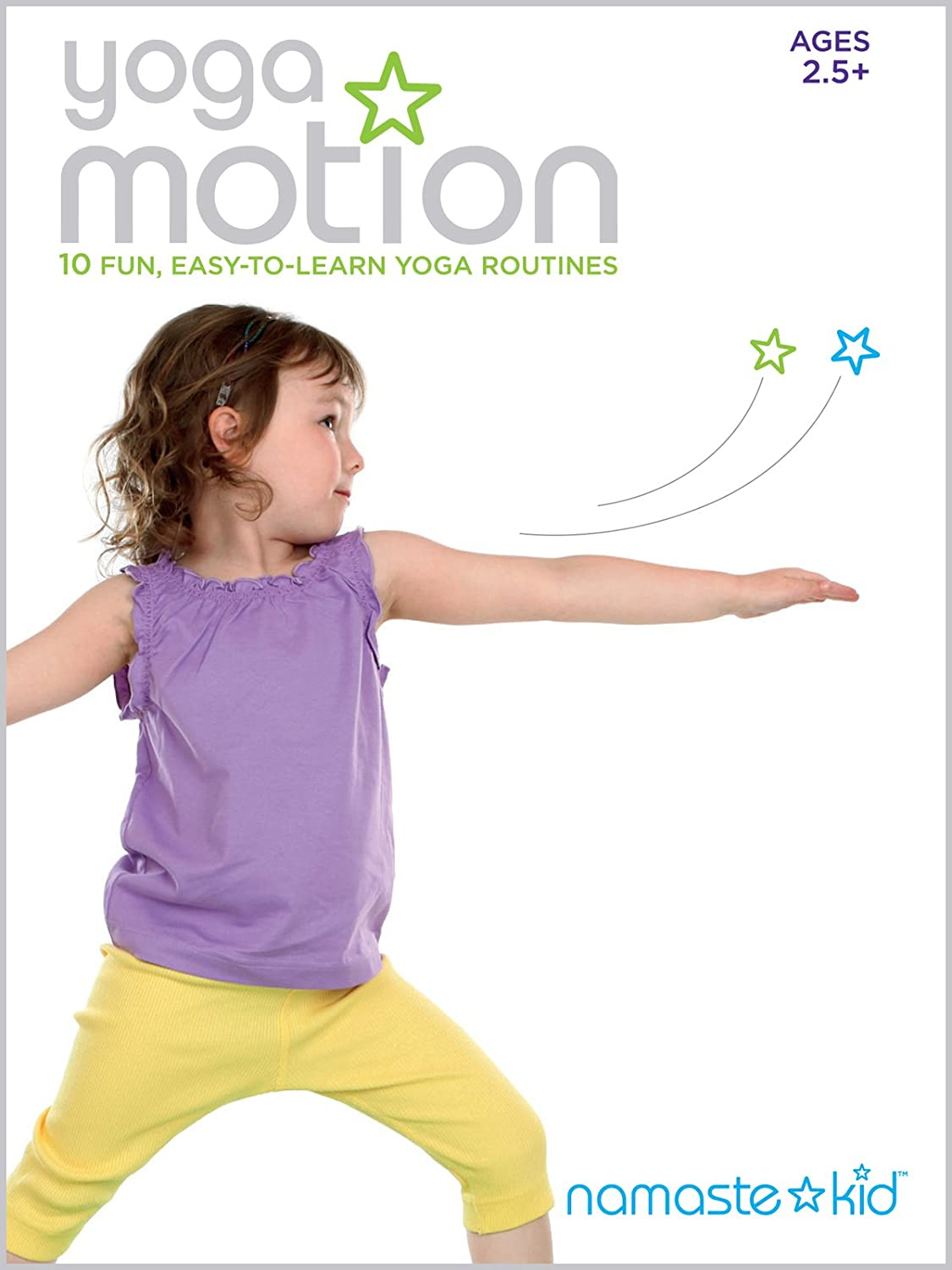 Amazon Com Yoga Motion Yoga Dvd For Kids Ages 2 5 Namaste Kid Lindsay Mccoy Movies Tv