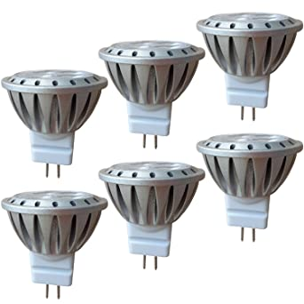 MR11 LED GU4 3W 12V AlideTech Bombillas Led, 35mm Diámetro, 20W 35W Luz Halógeno