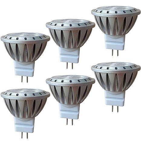 MR11 LED GU4 3W 12V AlideTech Bombillas Led, 35mm Diámetro, 20W 35W Luz Halógeno