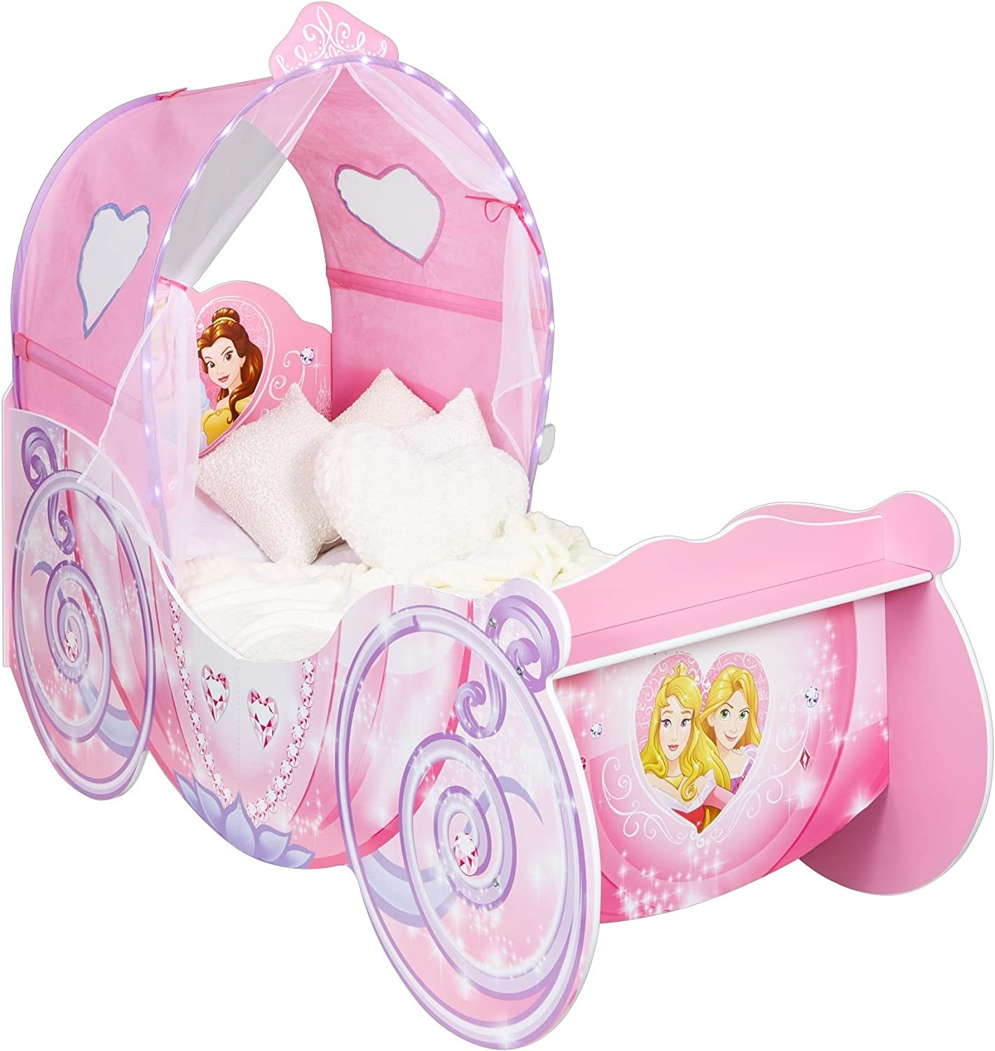 - Disney 452DNY Princess Carriage Kids Toddler Bed By HelloHome