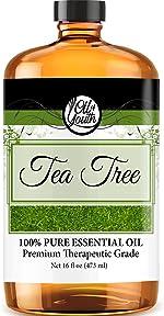 16oz Bulk Tea Tree Essential Oil – Therapeutic Grade – Pure