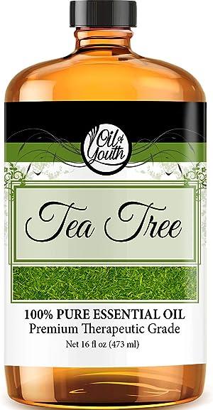 16oz Bulk Tea Tree Essential Oil – Therapeutic Grade – Pure & Natural Tea Tree Oil