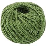 50M Wrap Gift Hemp Rope Ribbon Twine Rope Cord String Ball Army Green