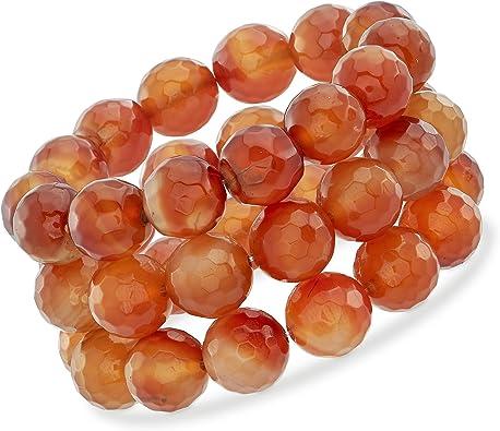 30mmOrange Agate Gemstone Pendant Bead Orange  Agate