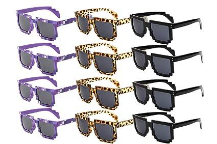 Gafas de Sol para Fiesta Pixel Sunglasses Novedad Retro ...