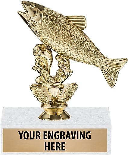 TROUT AWARD    # 2 TROUT TROPHY TROUT FISHING TROPHIES