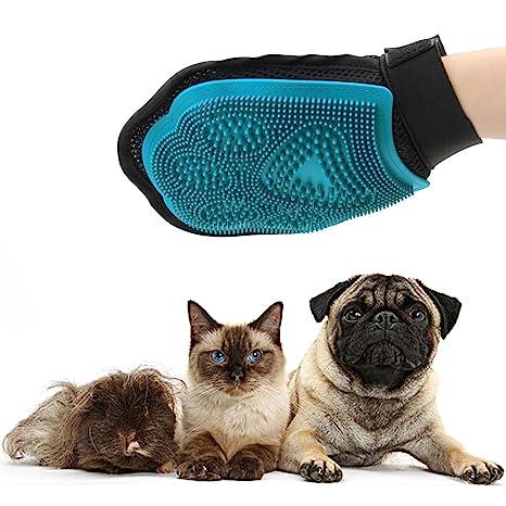 Ploopy Guante para Cepillar Perros y Gatos, Perro Guantes De Masaje para Mascotas, Guante