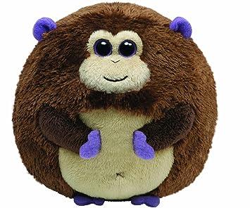 Ty 7138004 - Mono de peluche Bananas (12 cm, forma de bola),