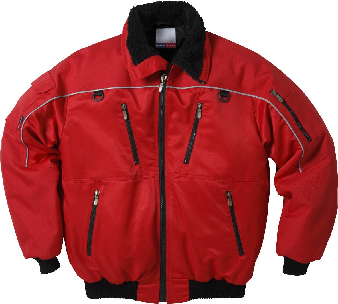 Fristad Kansas - Pilot jacket 464 PP XX/Large Red 100498-331 2XL