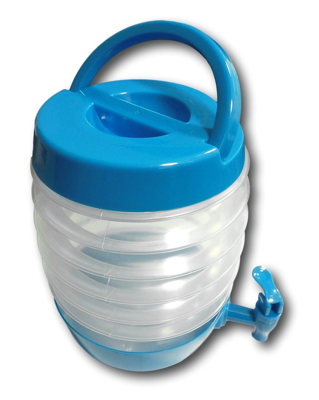 Faltkanister Kanister faltbar Getränke-Behälter mit Zapfhahn Camping ...