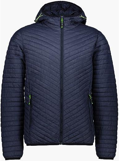 CMP Hombre Chaqueta Acolchada Fix Hood Jacket: Amazon.es: Deportes ...