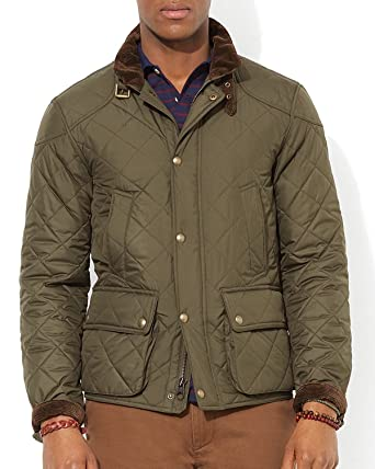 Polo Ralph Lauren Mens Quilted Insulated Winter Jacket At Amazon