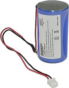 HQRP D-Size 3.6V Lithium Thionyl Chloride Battery Compatible with DSC ER34615M-T1 WT4911 WT4911B WT8911 ALEXOR Wireless Outdoor Siren WT4911BATT ADT