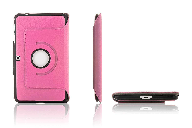 Stylet /& Protecteur Orange Extra Robust Protection Compl/ète Smart Auto Reveil Sommeil Forefront Cases Samsung Galaxy Tab 4 10.1 Rotatif /Étui Housse Coque Smart Case Cover Stand