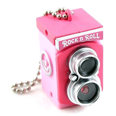 Desconocido Mini cámara Vintage Gadget Juguete Llavero Flash ...