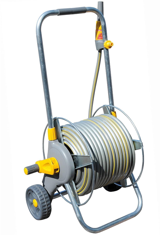 Hozelock Pro Metal Cart with 30m Hose 2436P0000